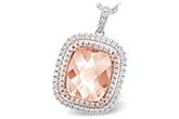 B215-49496: NECK 4.20 MORGANITE 4.66 TGW