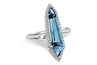 B217-28587: LDS RG 2.20 LONDON BLUE TOPAZ 2.41 TGW