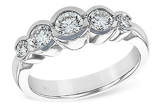 C120-05859: LDS WED RING 1.00 TW