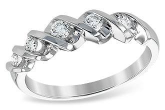 D120-05905: LDS WED RING .25 TW