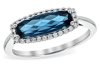 G217-32259: LDS RG 1.79 LONDON BLUE TOPAZ 1.90 TGW