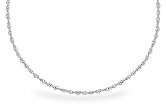 K300-06741: 1.5MM 14KT 18IN GOLD ROPE CHAIN WITH LOBSTER CLASP