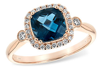M216-37659: LDS RG 1.62 LONDON BLUE TOPAZ 1.78 TGW