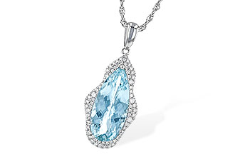 M217-33122: NECK 3.97 AQUAMARINE 4.20 TGW